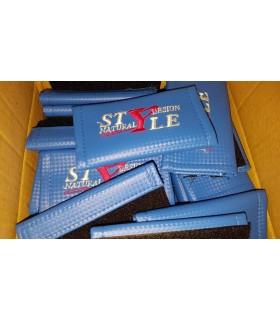 Cubre cinturón azul